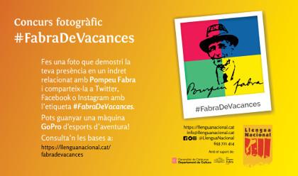 Comença el concurs fotogràfic #FabraDeVacances a les xarxes