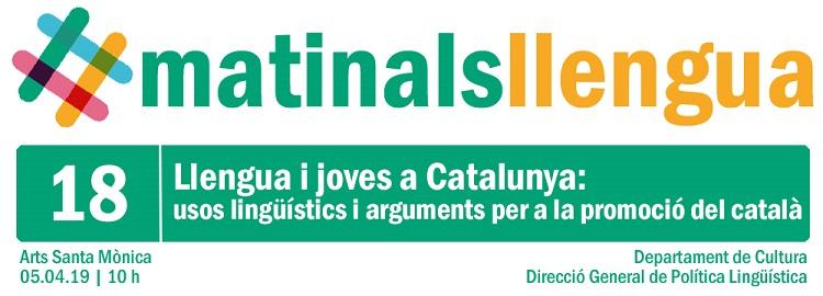 Matinal sobre llengua i joves a Catalunya