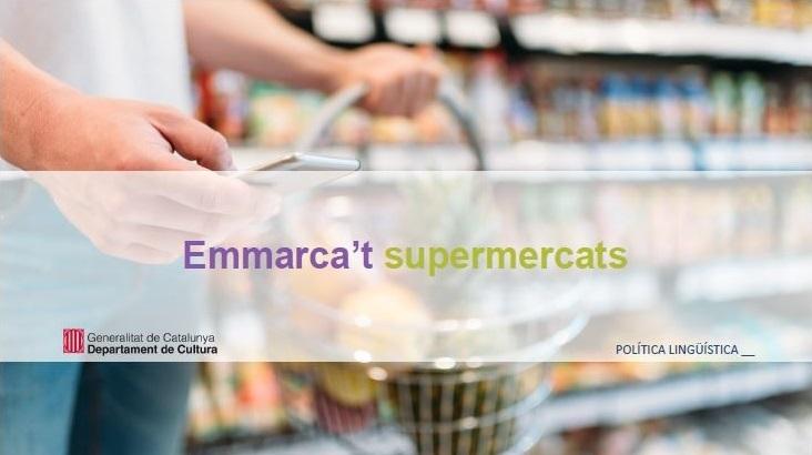 Portada de l'estudi 'Emmarca't supermercats. 2020'