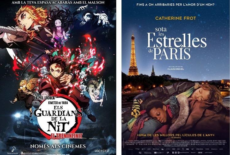 'Els guardians de la nit' i 'Sota les estrelles de París'