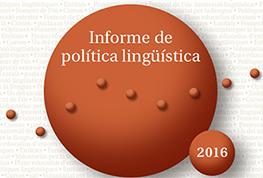 Informe De Politica Linguistica 2016