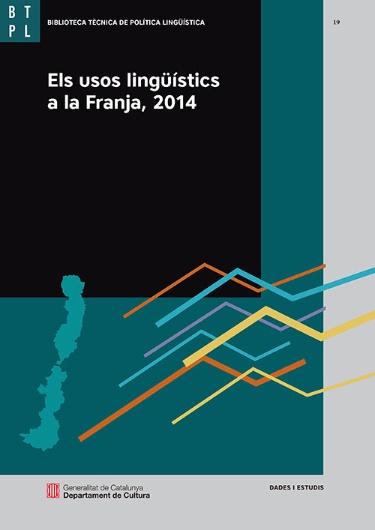 Els usos lingüístics a la Franja, 2014