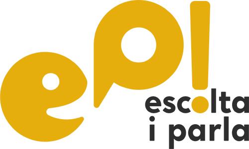 Logo del curs EP! Escola i Parla