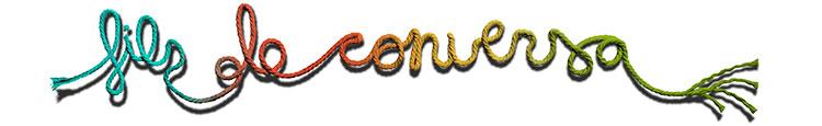 Les paraules fils de conversa formades amb fils de colors