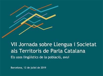 Cartell de la VII Jornada sobre Llengua i Societat