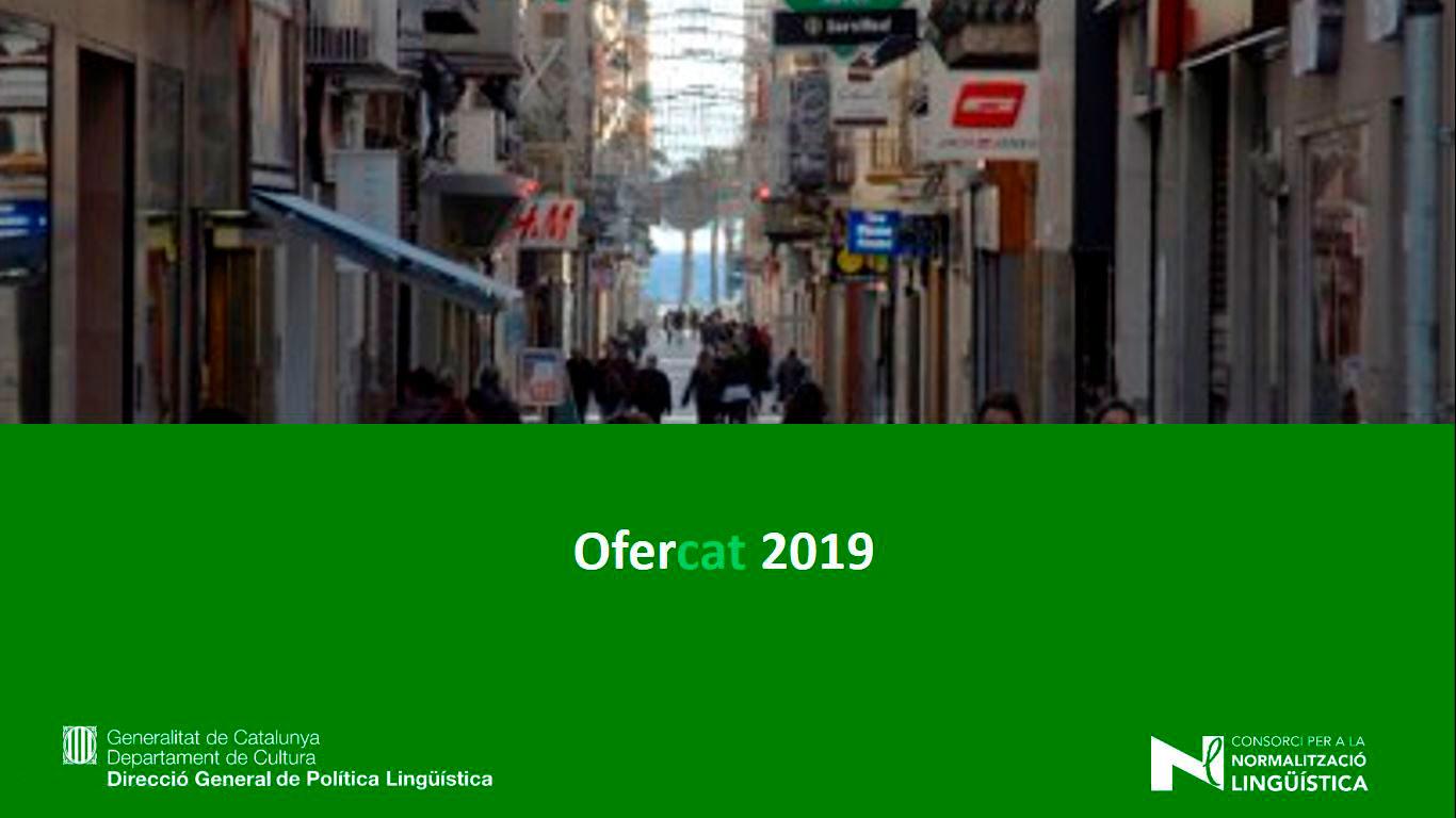 Portada de l'Ofercat 2019